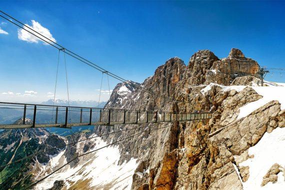 Dachstein-Gletscher - Ausflugsziel in der Steiemark