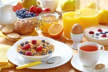 Frühstücksbuffet - ride & relax Apparthotel in Eben im Pongau