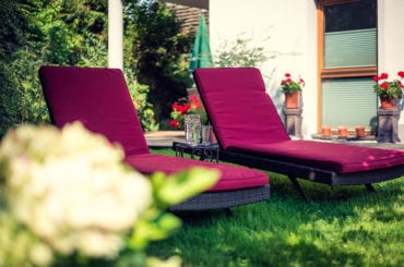 Garten - ride & relax Apparthotel in Eben im Pongau