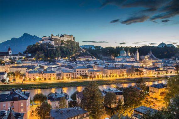 Getreidegasse - Ausflugsziel in der Stadt Salzburg