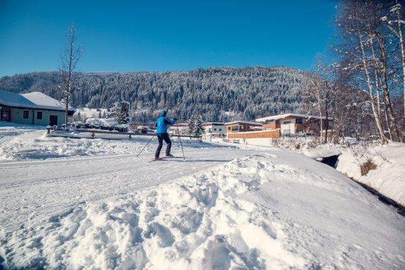 Langlaufen - Winterurlaub in Eben im Pongau