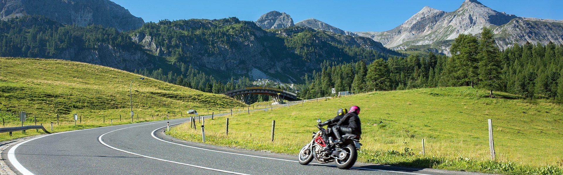 Motorrad-Touren im Salzburger Land, Österreich