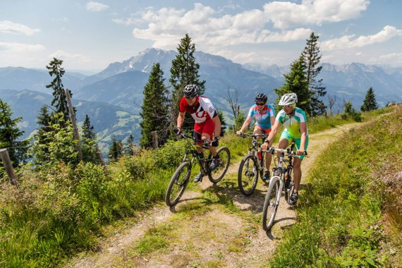 Mountainbiken - Sommerurlaub in Eben im Pongau, Salzburger Sportwelt