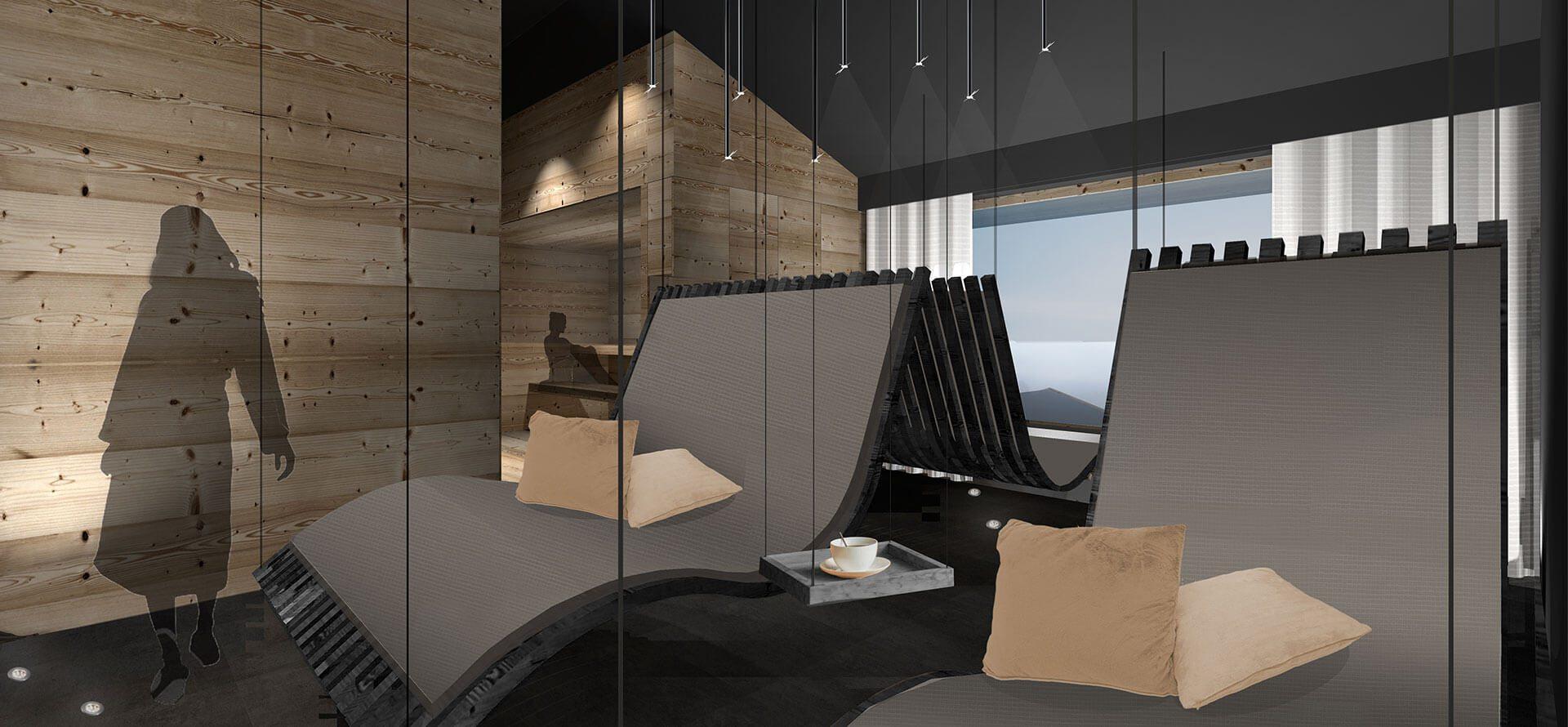 Wellness & Sky-Spa im ride & relax Apparthotel in Eben im Pongau