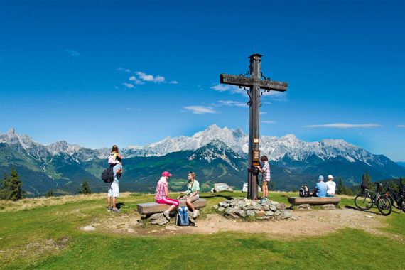 Wanderung auf den Rossbrand - Salzburger Land