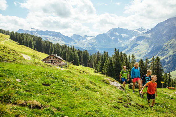Wanderurlaub, Familienurlaub im Salzburger Land