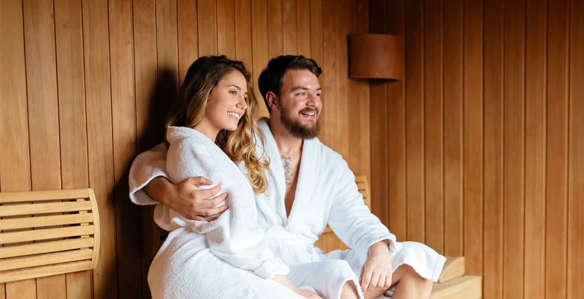 Wellness & Sky-Spa im ride & relax Apparthotel in Eben im Pongau